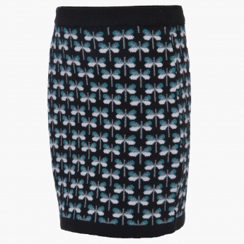 FAME FOREVER Knitted Skirt