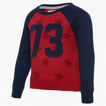 JUNIORS Baseball Numeric Sweatshirt