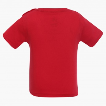 JUNIORS Solid Patch Pocket T-Shirt