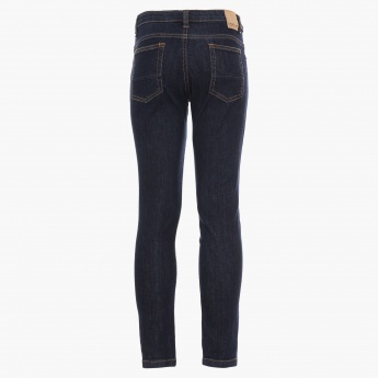 FAME FOREVER Stonewashed Five-Pocket Jeans