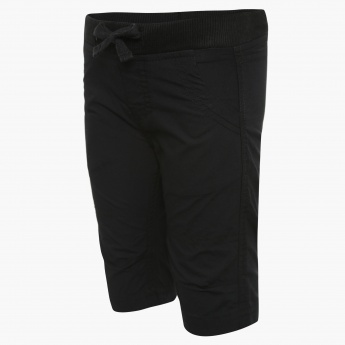 FAME FOREVER Solid Elasticated Shorts