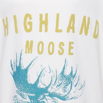FAME FOREVER Highland Moose Full Sleeves Top