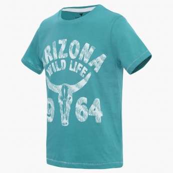 FAME FOREVER Arizona Wildlife Crew Neck T-Shirt