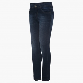 BOSSINI Five Pocket Whiskered Jeans