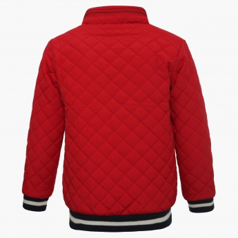 BOSSINI Quilted Bomber Jacket