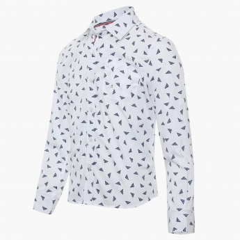 BOSSINI Printed Full Sleeves Shirt