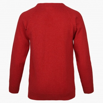 BOSSINI Solid Crew Neck Sweater