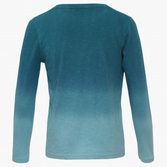BOSSINI Chest Imprint Full Sleeves T-Shirt