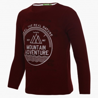 BOSSINI Mountain Full Sleeves T-Shirt