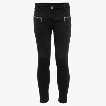 BOSSINI Slim Fit Zippered Pants