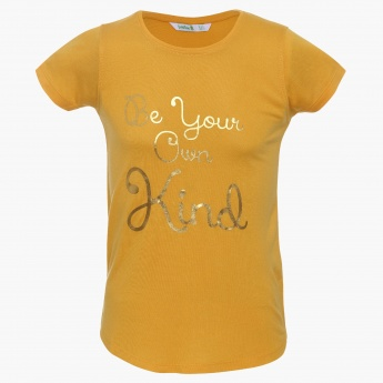 BOSSINI Shimmer Message T-Shirt