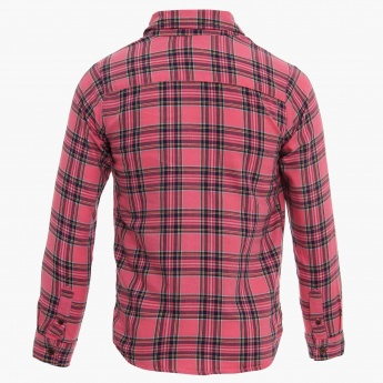 BOSSINI Full Sleeves Check Shirt