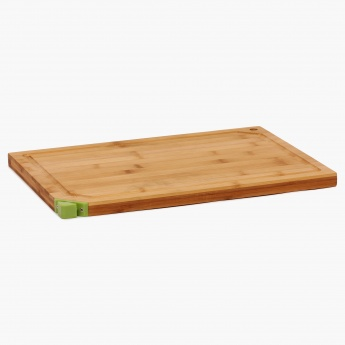 Standford Bamboo Cutting Board With Knife Sharpener-Large
