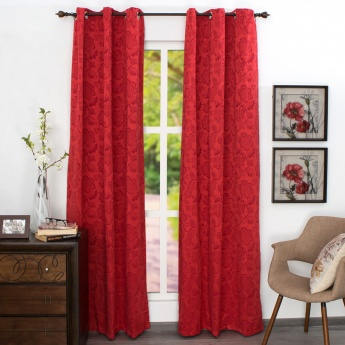 Jade Door Curtain - Set of 2 - 110 x 225 CM