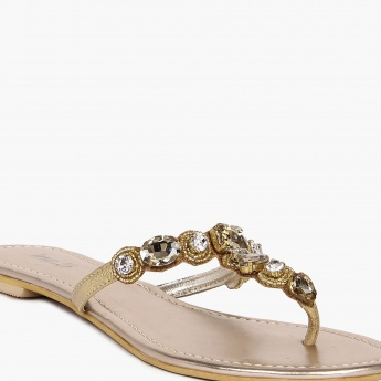 INC.5 Embellished Flats