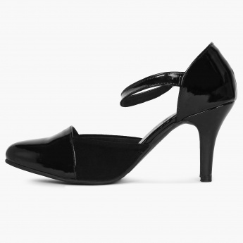 INC.5 Close-Toe Patent Finish Heels