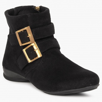 CATWALK Buckle Detail Boots