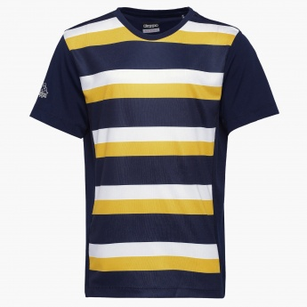 KAPPA Striped Crew Neck T-Shirt