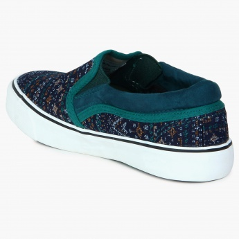 JUNIORS Tribal Mood Slip Ons