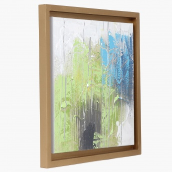Artistry Abstract Handpainting Frame- 40 x 40 cm