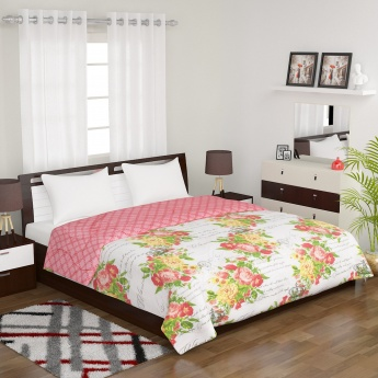 PORTICO Floral King Size Comforter