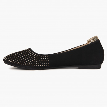 CODE Metallic Drops Flats