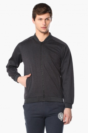FAME FOREVER Zip-Up Full Sleeves Jacket