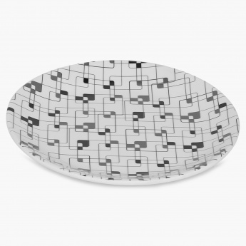 Forest Forever Lattice Side Plate