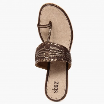 SHUZ Toe-Ring Wedges