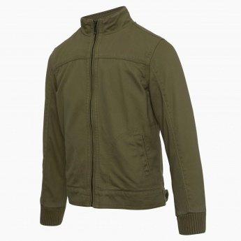 BOSSINI Zip-Up Full Sleeves Jacket