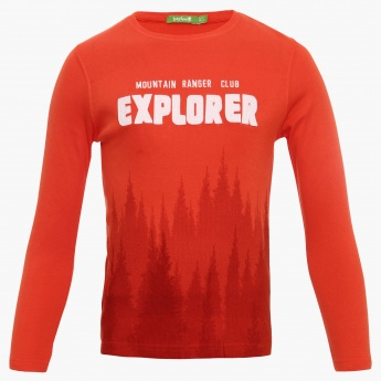 BOSSINI Explorer Crew Neck T-Shirt