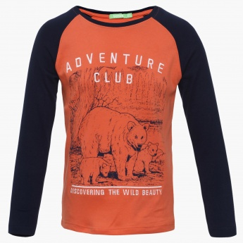 BOSSINI Adventure Club Raglan Sleeves T-Shirt
