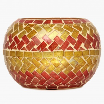 Galaxy Mosaic Bangle Votive Holder