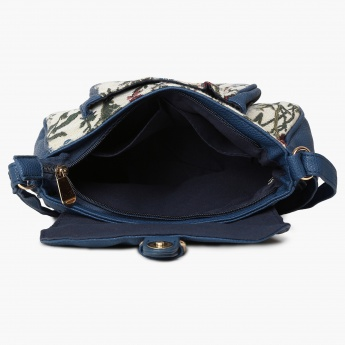CAPRESE Victorian Embroidery Sling Bag