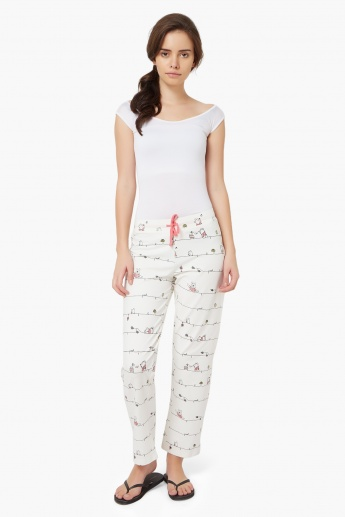 STRINGS Micky Minnie Print Pyjama