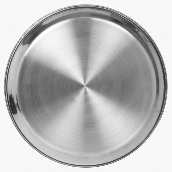 Rasoi Stainless Steel Dinner Plate- 1Pc.