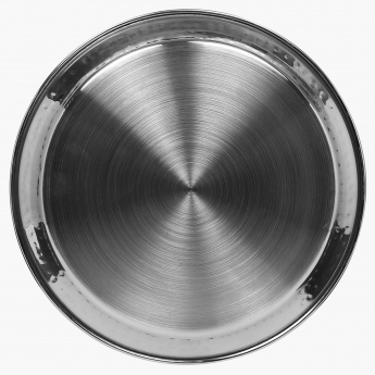 Blaze Panchavati Hammered Stainless Steel Side Plate