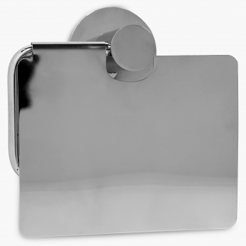 Adrian Aeron Toilet Paper Holder With Flap