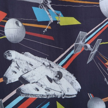 Kids Star Wars Opaque Window Curtain