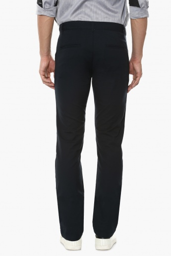 UNITED COLORS OF BENETTON Solid Slim Fit Pants