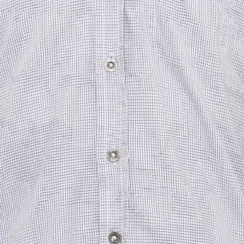 GINI & JONY Mini Checks Full Sleeves Shirt