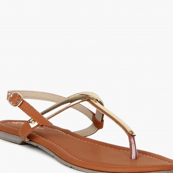 GINGER Patent Finish Sandals