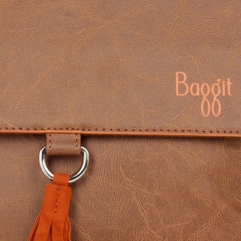 BAGGIT Twix Bindas Tan Sling Bag