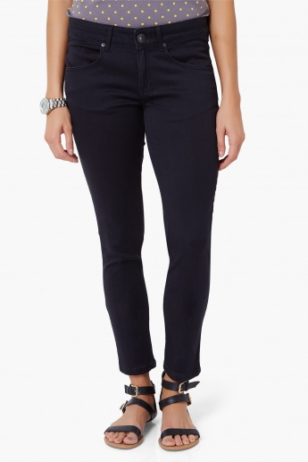 UNITED COLORS OF BENETTON Zipped Ankle Jeans