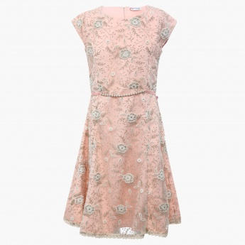 PEPPERMINT Frosty Floral Dress