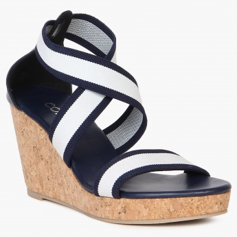CODE Strappy Wedges