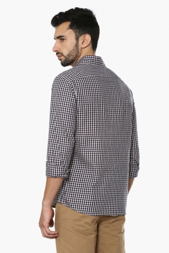 CELIO Twin Chest Pocket Check Shirt