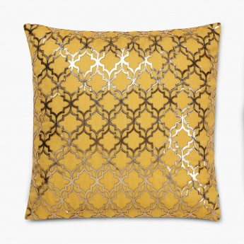 Matrix Marigold Cushion Cover- Set Of 3 Pcs.