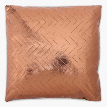 Merry Shimmer PU Filled Cushion - 30 x 30 CM