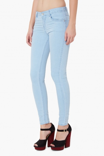 KRAUS Light Wash Skinny Jeans